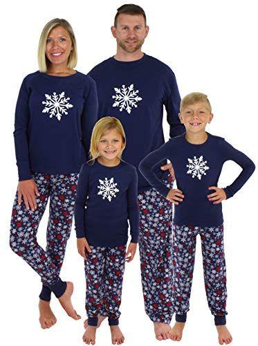 New Sleepyheads Holiday Family Matching Winter Navy Snowflake Pajama PJ  Sets Christmas Clothing.   14.99 2559c9fd5