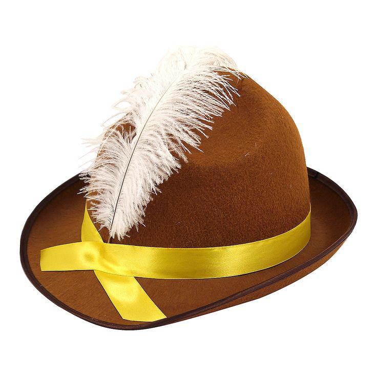Beer Festival Fancy Dress Hat (Brown)