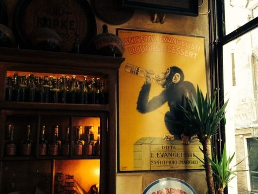 In't Aepjen - Historic Amsterdam bar used to accept sailor monkeys as payment.