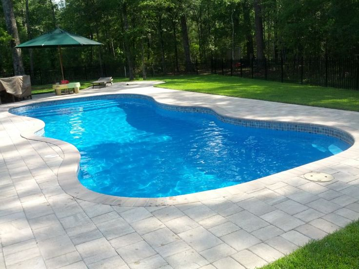 72 best fiberglass pools images on pinterest arquitetura for Inground swimming pools sale