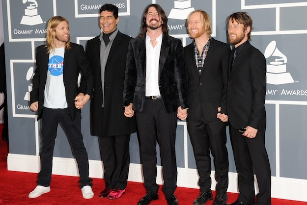 The Foos ( Foo Fighters took home 5 Grammys including best ROCK Album) check out www.foofighters.com