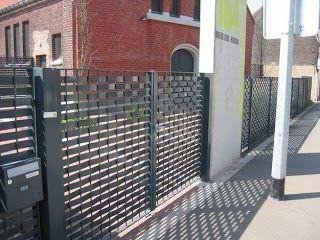 Cancello Esterno Moderno : Cancelli in ferro moderni cancelli da esterno cancelli moderni