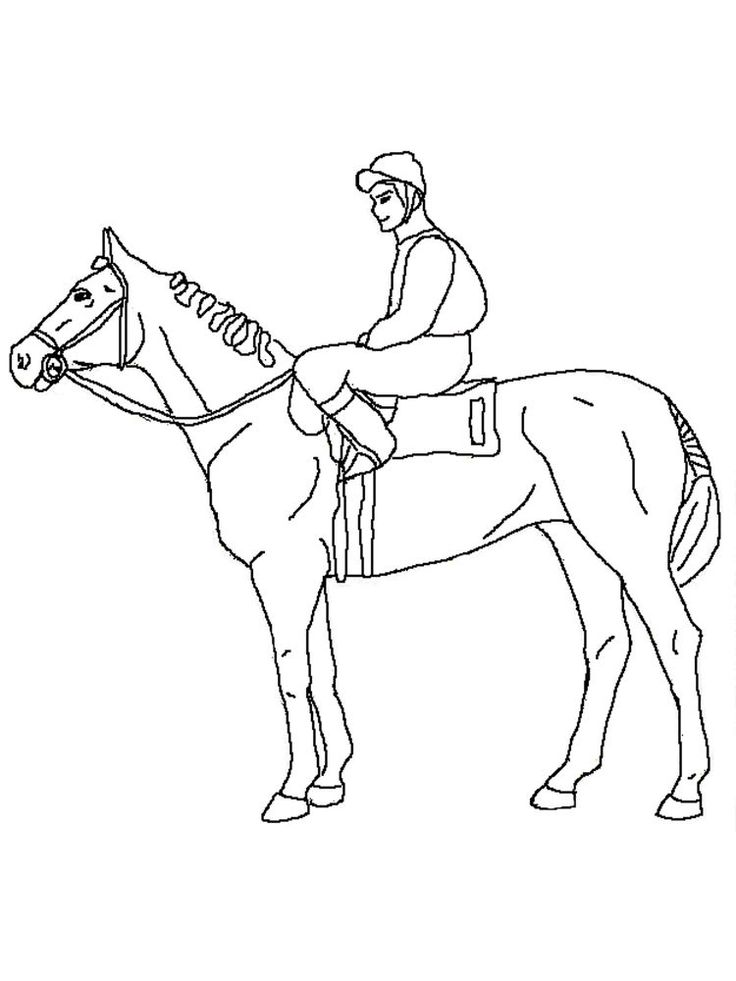 wild horse coloring page print. Horses are known as runner ...