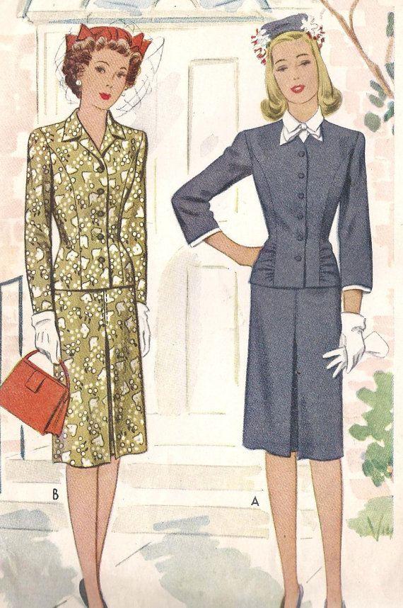 192 best Suits vintage images on Pinterest   Vintage fashion ...