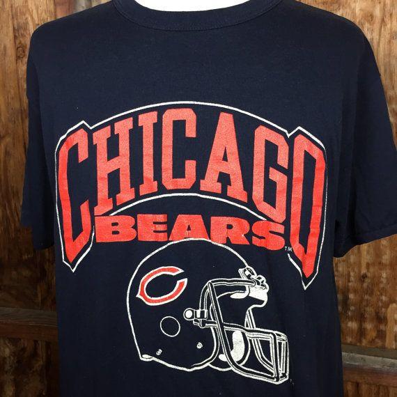 Vintage VTG 80's Champion Sportswear Chicago Bears T-Shirt by WRFR