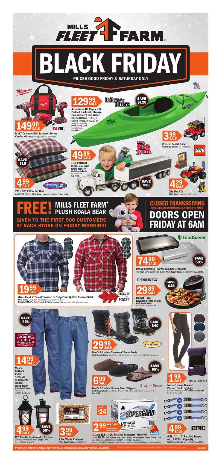 Fleet farm black friday 2016 do you know what s in and what s hot in the fleet farm for this black friday here are fleet farm ad on black friday 2016