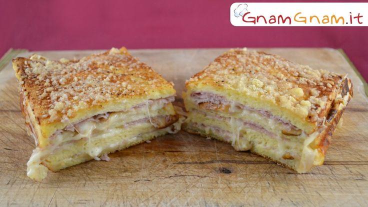 Plumcake con pane per tramezzini - Gnam Gnam