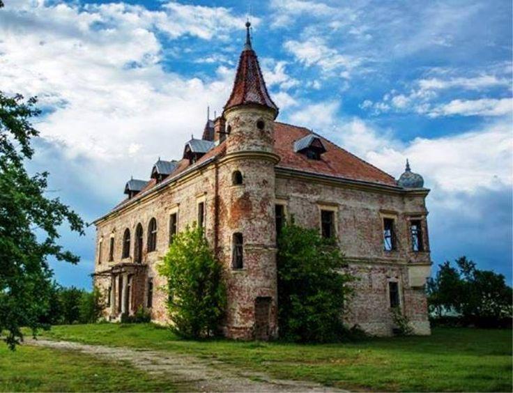 Teleki Castle in Pribilesti, Maramures County, Romania
