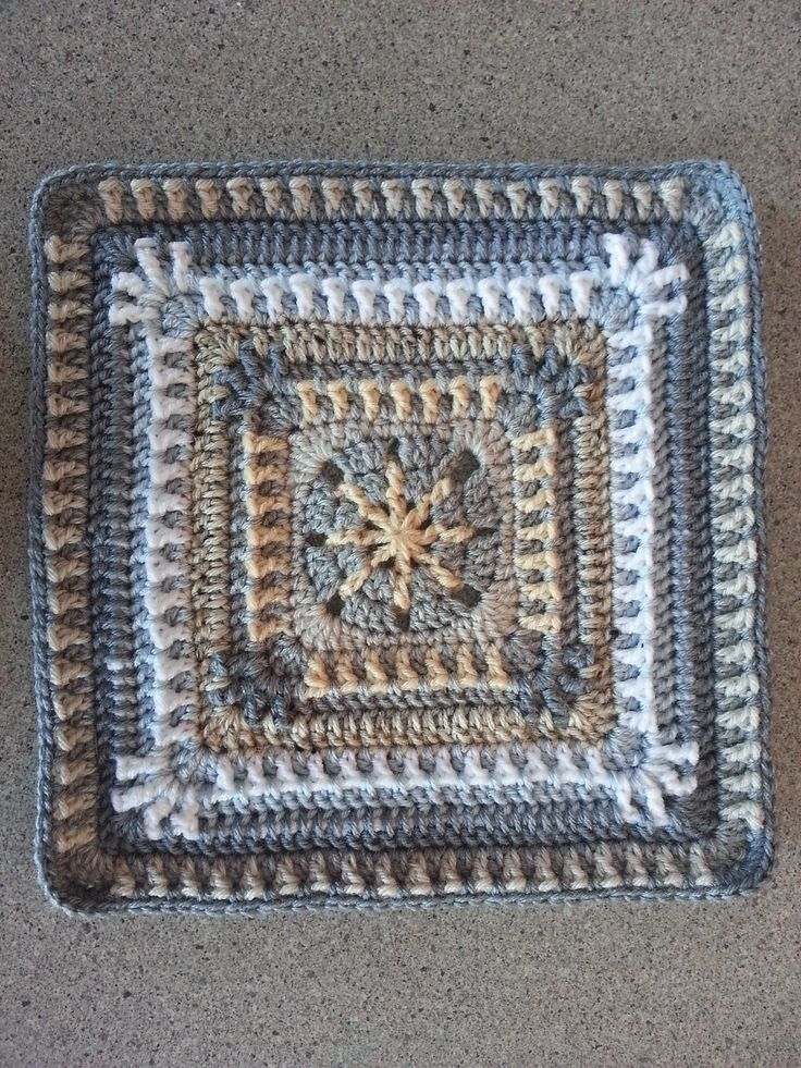 Raindrop Block Motif By Donna Kay Lacey - Free Crochet Pattern - (ravelry)