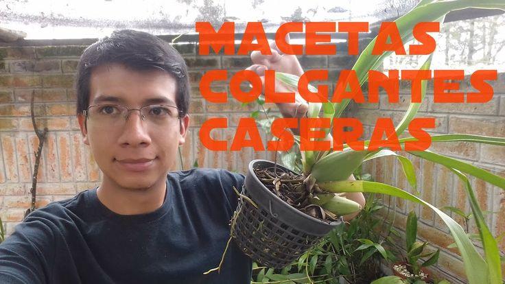 M s de 1000 macetas para orquideas en pinterest cultivo - Maceteros colgantes para balcones ...
