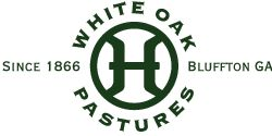 White Oak Pastures | Bluffton, GA White Oak Pastures is a multigenerational family farm that cooperates with nature to produce artisan products that are healthy, safe, nutritious and delicious. Care is given to ensure that all production practices are economically practical, ecologically sustainable, and that their animals are always humanely treated.