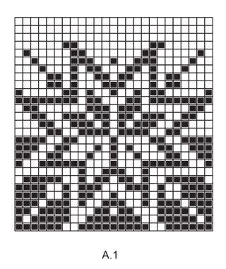 Holiday Project / DROPS Extra 0-1332 - Huovutettu kuviollinen kori jouluksi DROPS Eskimo-langasta. - Free pattern by DROPS Design