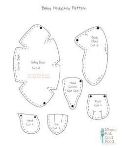 Baby Hedgehog Pattern
