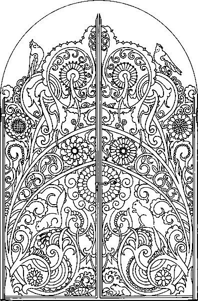 gates coloring page - Google Search