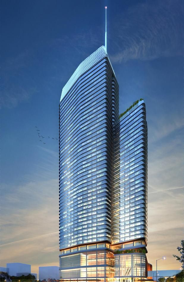 The second hotel planned for downtown is proposed by the Manchester Texas Financial Group, and would be a $350,000,000 high-rise hotel with about 1,000 rooms. This hotel would be built on land east of the convention center along Waller Creek.