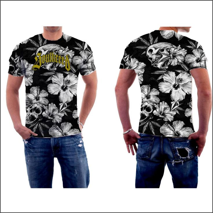 Custom floral and skull all over t shirt Click the link in my bio --->  @soulkreedclothing and get yours now! Sign up to our newsletter and get 15% off all products! 100% polyester construction Durable rib neckband Fabric weight: 4.5 oz/yd² (153 g/m²) 30 singles thread weight Unisex Superior sublimation results Price $79.00 AUD  #skulls #skullrings #skull #skully #skullz #skulllove #skulladdict  #skullandbones #skullobsession  #skullthings #skulllovers #skullcollector..