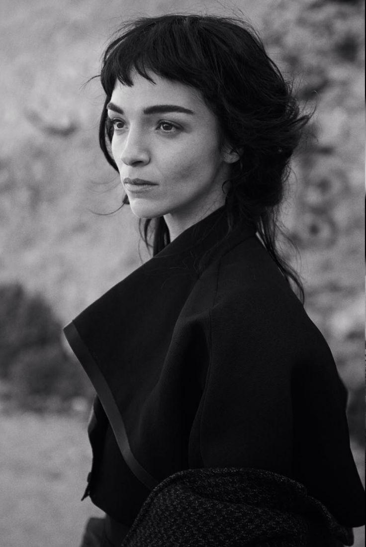Mariacarla Boscono by Peter Lindbergh for Vogue Italia February 2014