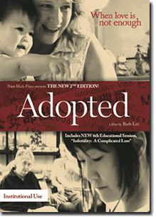 Adopted reveals the grit rather than the glamor of transracial adoption. First-time director Barb Lee goes deep into the intimate lives of two well-meaning families and shows us the subtle challenges they face. One family is just beginning the process of adopting a baby from China and is filled with hope and possibility. The other family's adopted Korean daughter is now 32 years old.