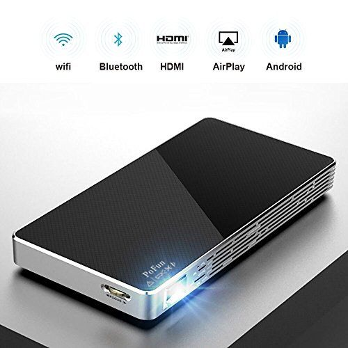 in the picture:Mini Portable Projector For iPhone, Mobile Projector for Outdoor,Pico HD Video Projector Support Bluetooth 1080P HDMI USB Wifi By PoFun lots of color options – get more info:https://www.amazon.com/dp/B074JCXCJQ    When it comes to very good and affordable product, you seriously s...