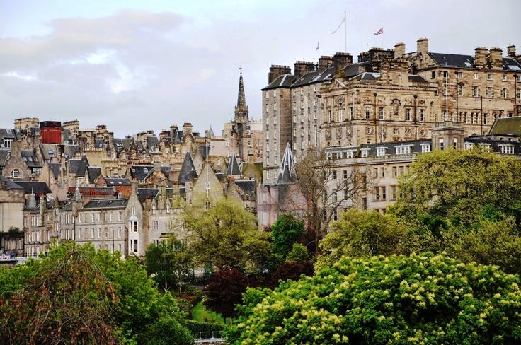 Fantastiske Edinburgh