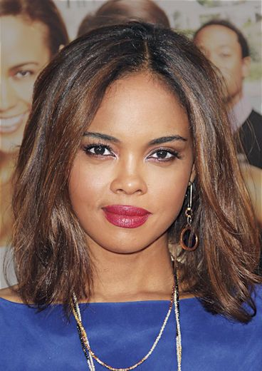 Medium: Sharon Leal    Straight from the pages of ESSENCE.com's Hot Hair issue, here are forty fab star styles — from short and sassy, to long and luscious!
