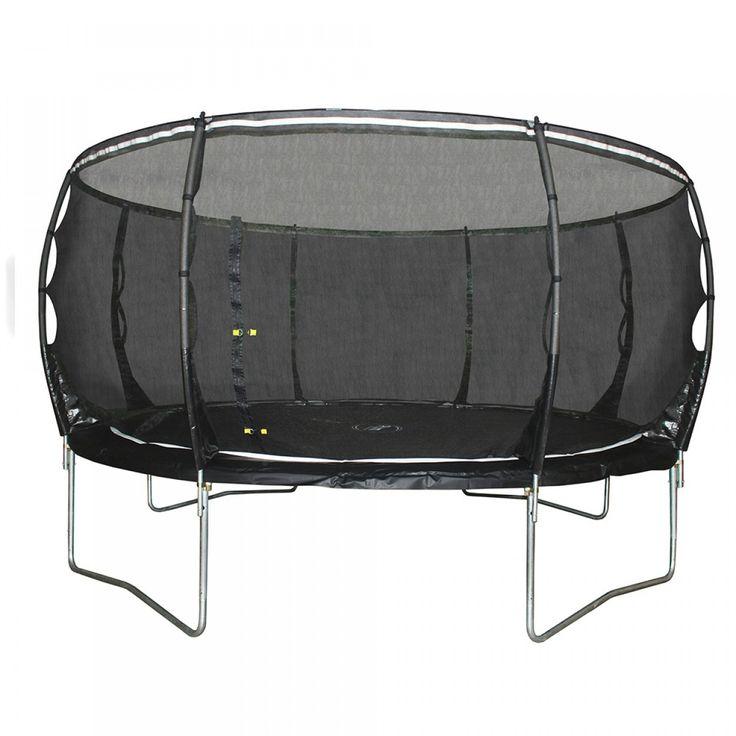 Plum®  Magnitude 14ft trampoline and enclosure