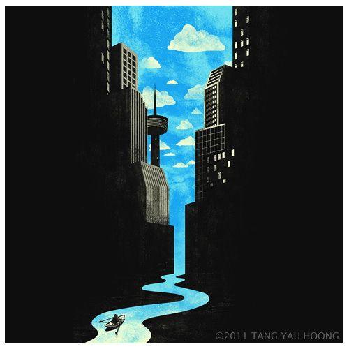 Journey to the City of No Horizon