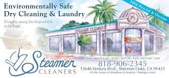 Steamer cleaners specialize in cleaning and preserving clothes and other fabric material. Hire Best Dry Cleaners in Sherman Oaks California... give them a try.   #DryCleaners
