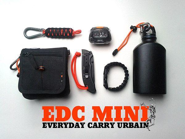 EDC urbain ou EveryDay Carry c'est le kit que vous avez toujours sur vous, les petits trucs dont vous ne pouvez pas vous passer quand vous partez en ville/