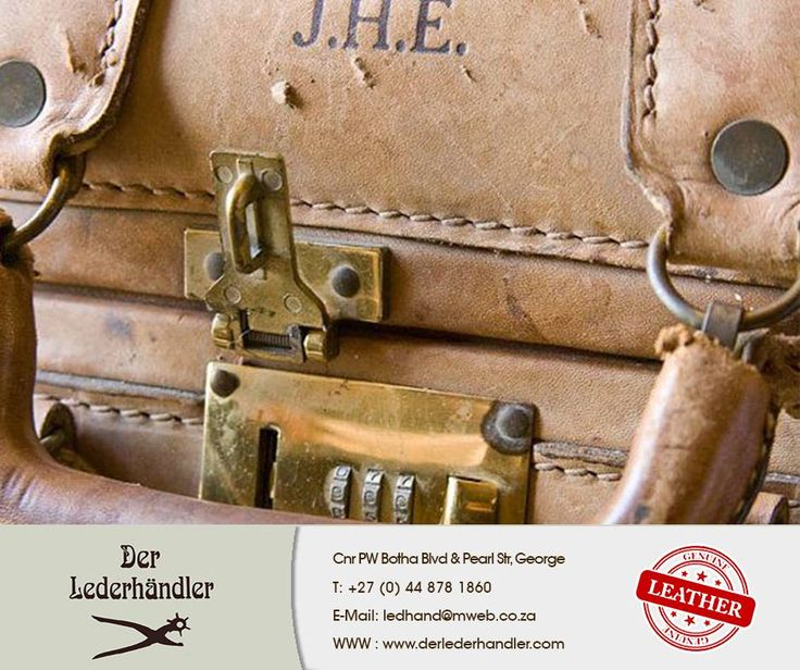 If you are a #vintage fanatic you will absolutely love this #1950s #GenuineLeather Suitcase. Remember that #DerLederhandler also sells genuine leather handbags that are trendy and in style.