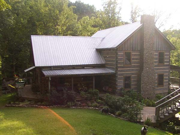 1000 images about mountain house plans on pinterest for Log cabin roof design
