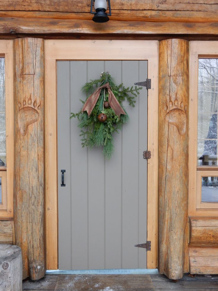 Lodge Style Doors : Best images about cabin style living and decor on