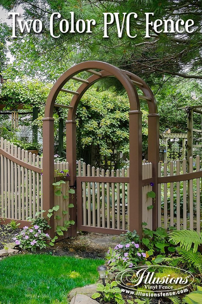 17 Fence Ideas That Add Curb Appeal To Your Home Illusions Fence Vinyl Fence Backyard Fences Cheap Garden Fencing