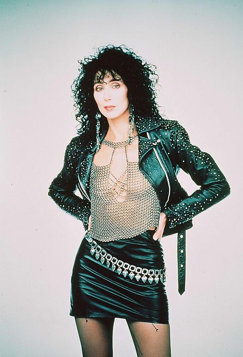 1987 - Cher in metal