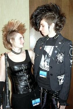DEATHROCK FASHION- The look of love.