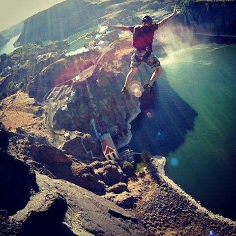 I once said I'd never BASE jump. Now I really want to BASE jump.