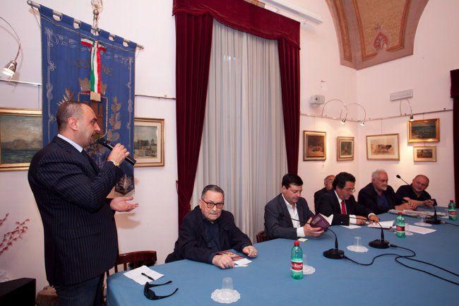 Presentazione del Libro presso la Sala Consiliare del Comune