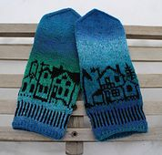 Ravelry: Byvotter/Kald november votter / Cold November mittens pattern by MaBe