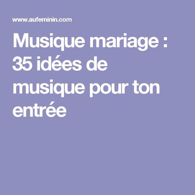 Musique mariage : 35 idées de musique pour ton entrée