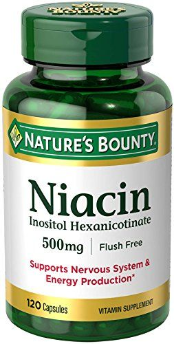 Nature's Bounty Niacin Flush Free 500 mg, 120 Capsules >>> To view further for this item, visit the image link.