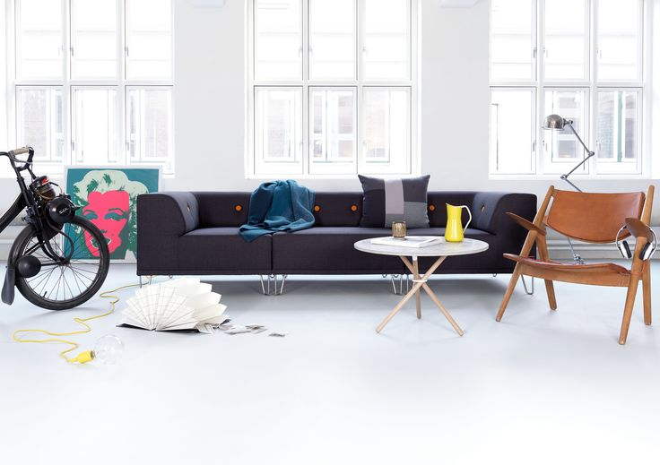 The beautiful Nomad Dot modular sofa from A Room Above. Scandinavian design - global attitude.
