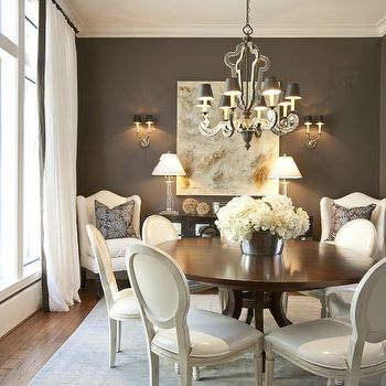 Marvelous Round Back Dining Chairs, French, Dining Room, Dodson And Daughter Interior  Design