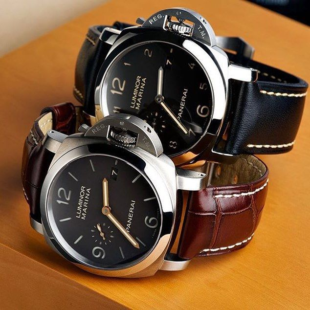 A nice #Panerai stack by @thewatchclub #PaneraiCentral