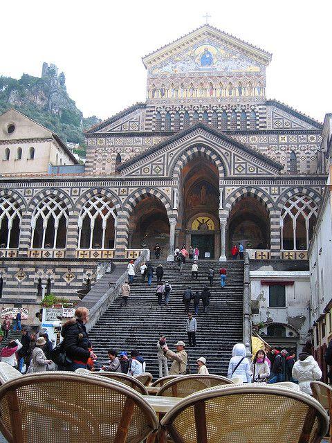 Duomo diAmalfi Italy.......i stood in this exact spot and i WILL go back!