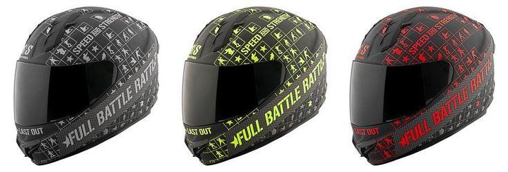 Speed & Strength SS1400 Full Battle Rattle Full Face Helmet