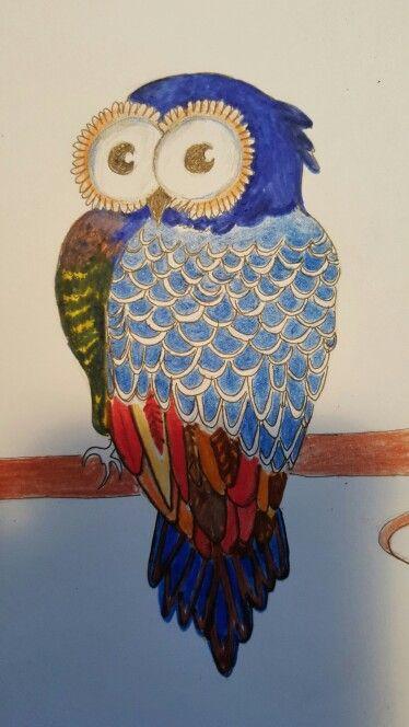 Owl drawing ☺