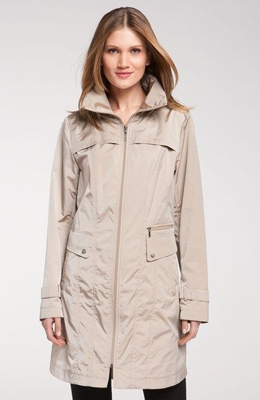 Cole Haan Packable Raincoat available at #Nordstrom