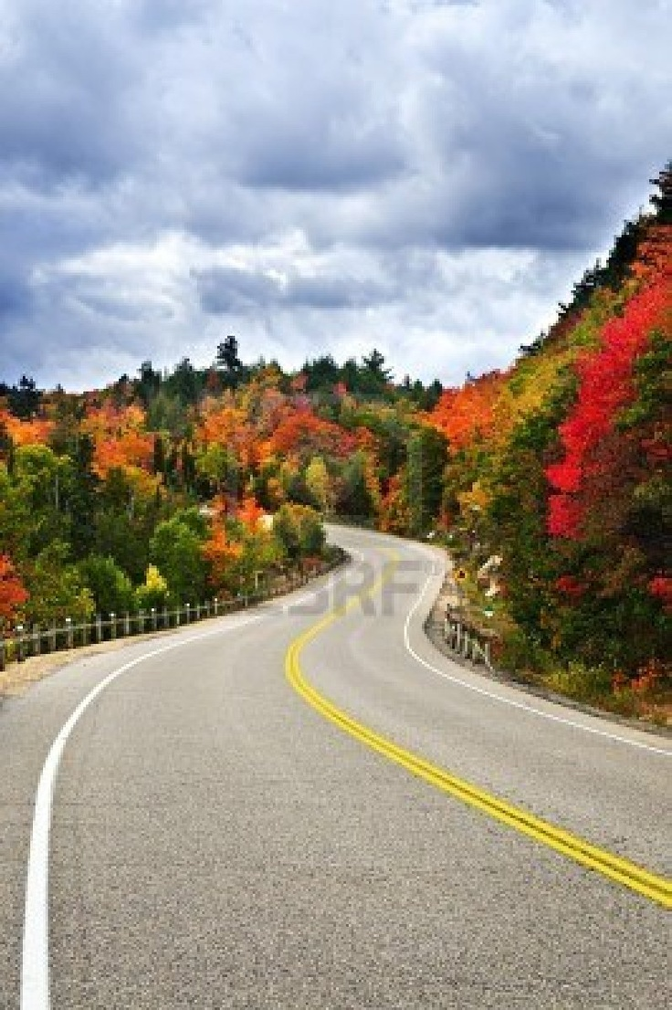 Fall scenic highway in northern Ontario. I want to go see this place one day. Please check out my website thanks. www.photopix.co.nz