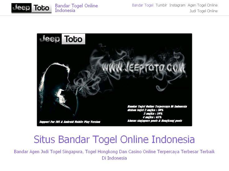 Bandar Togel Online Indonesia on Strikingly
