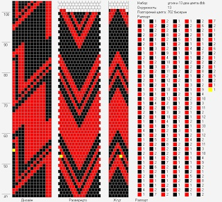 Lbeads  Tutorial: Design Tubular Bead Crochet Jewelry Patterns by Lablun's…